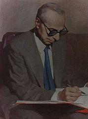 Michel Aflaq, pendiri partai sosialis Baath (kebangkitan).