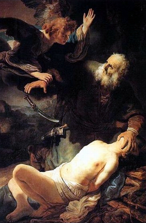 Ibrahim dalam imajinasi pelukis Kristen, yang kemudian ditiru oleh para pelukis Muslim ketika mereka membuat komik tentang Nabi Ibrahim dan Isma'il.