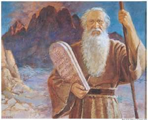 Musa dalam imajinasi orang Kristen.