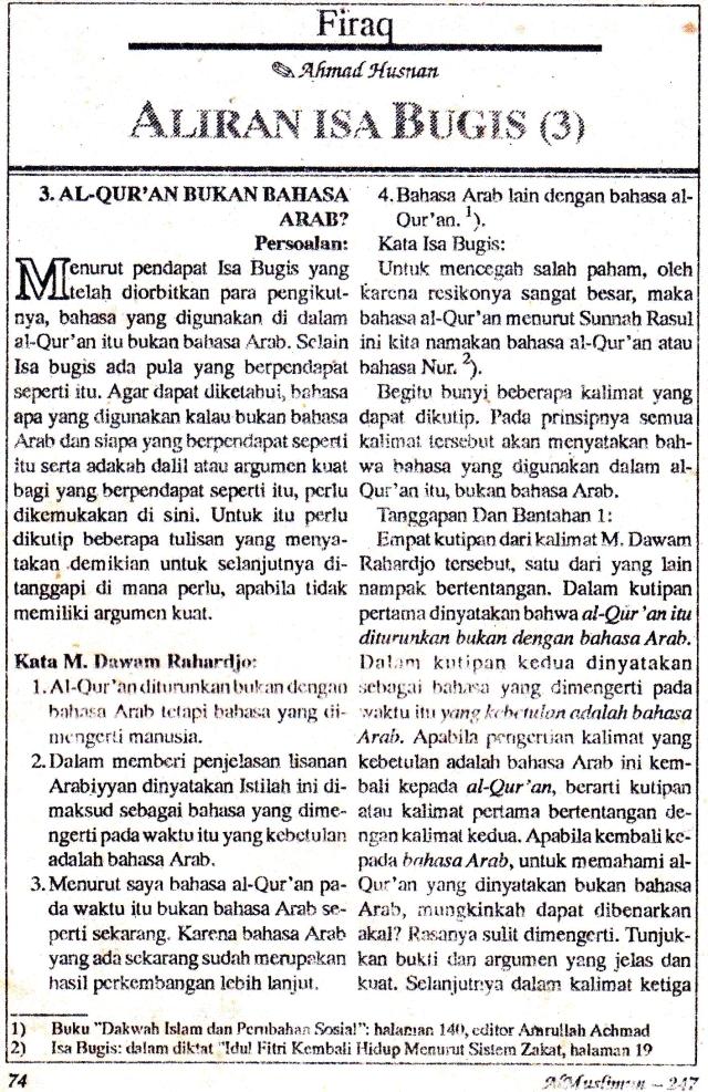 AlMuslimun - Isa Bugis1