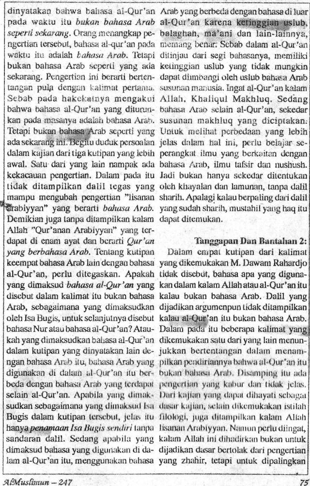 AlMUslimun - Isa Bugis2