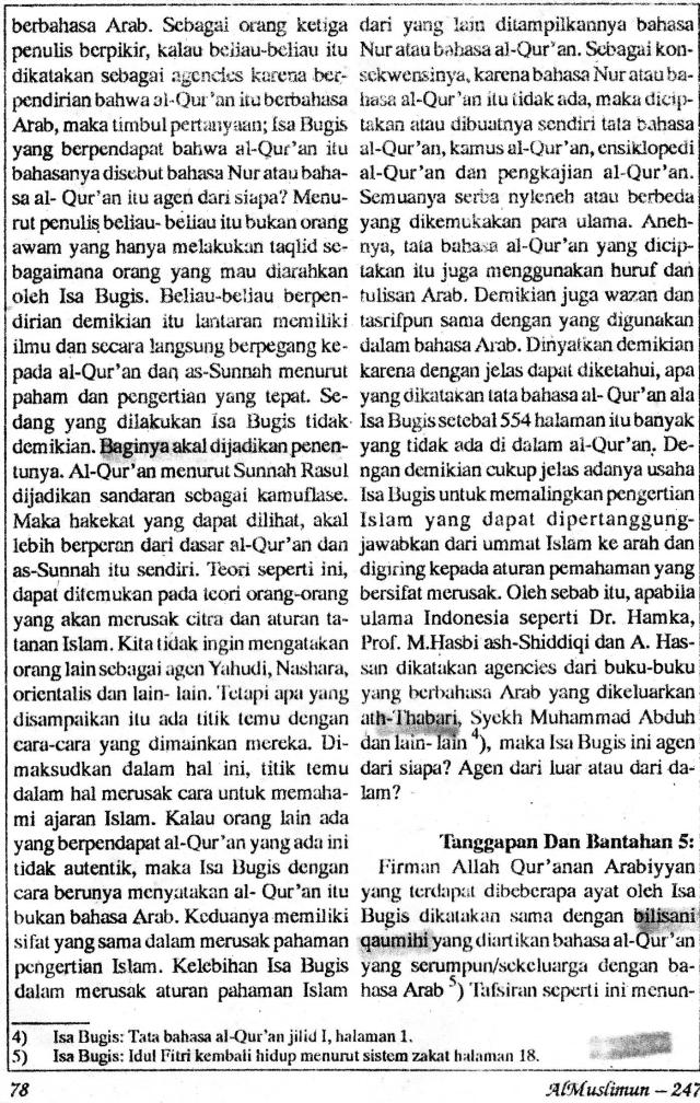 AlMuslimun - Isa Bugis5