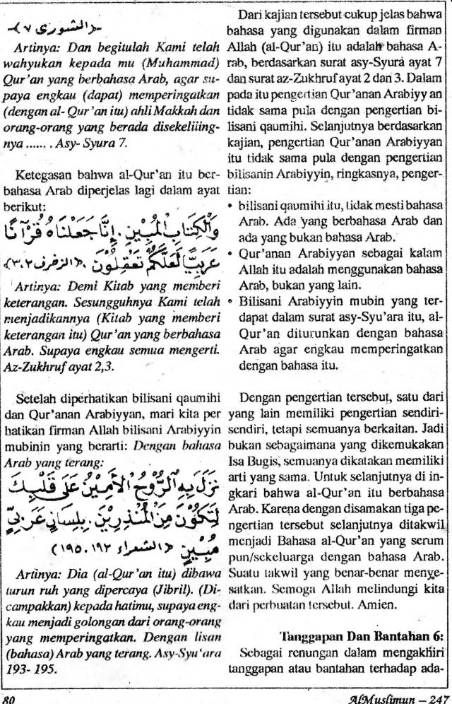 AlMuslimun - Isa Bugis7