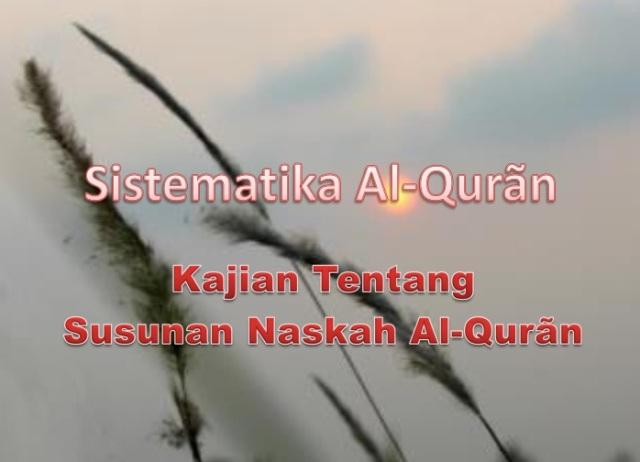 Sistematika Al-Quran